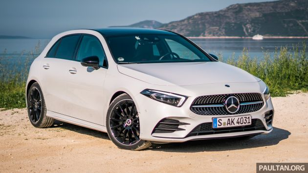 mercedes benz a class plug in hybrid to debut in 2019. Black Bedroom Furniture Sets. Home Design Ideas