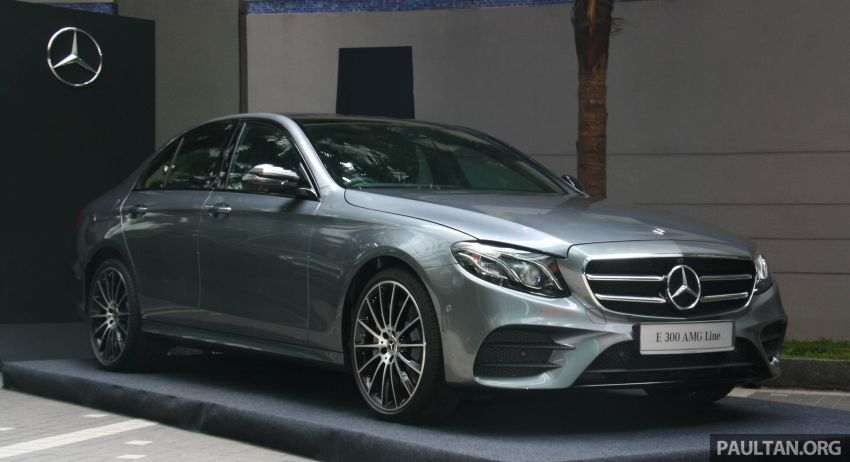 W213 Mercedes-Benz E300 AMG Line CKD in Malaysia – RM388,888 estimated, better spec than CBU version Image #835697