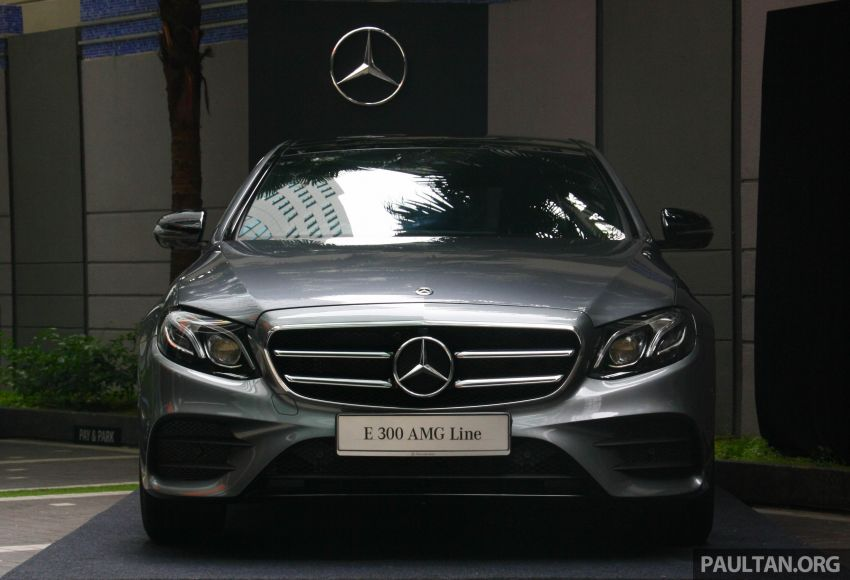 W213 Mercedes-Benz E300 AMG Line CKD in Malaysia – RM388,888 estimated, better spec than CBU version Image #835700