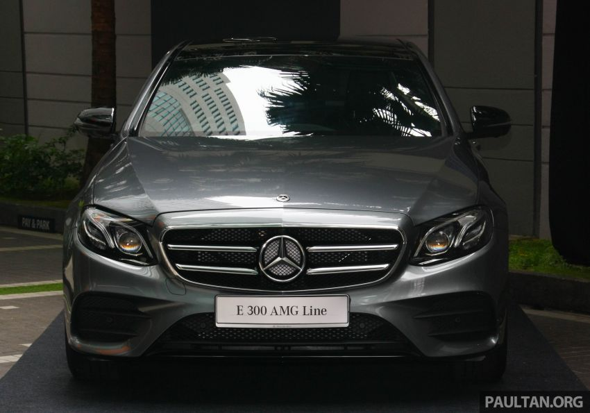W213 Mercedes-Benz E300 AMG Line CKD in Malaysia – RM388,888 estimated, better spec than CBU version Image #835701