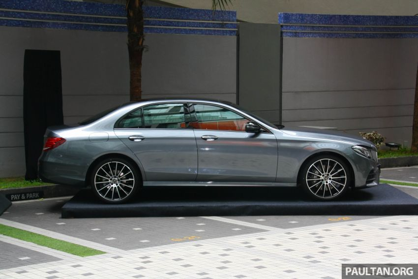 W213 Mercedes-Benz E300 AMG Line CKD in Malaysia – RM388,888 estimated, better spec than CBU version Image #835708