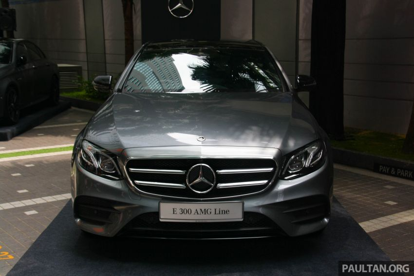 W213 Mercedes-Benz E300 AMG Line CKD in Malaysia – RM388,888 estimated, better spec than CBU version Image #835683