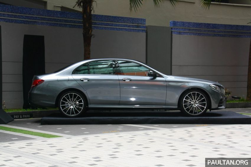 W213 Mercedes-Benz E300 AMG Line CKD in Malaysia – RM388,888 estimated, better spec than CBU version Image #835709