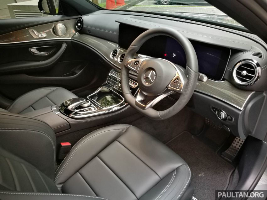 W213 Mercedes-Benz E300 AMG Line CKD in Malaysia – RM388,888 estimated, better spec than CBU version Image #835710