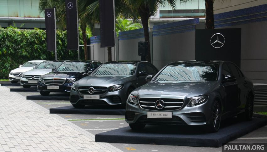 W213 Mercedes-Benz E300 AMG Line CKD in Malaysia – RM388,888 estimated, better spec than CBU version Image #835712
