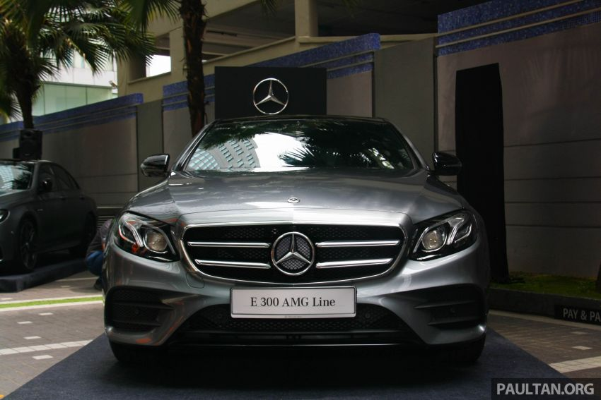 W213 Mercedes-Benz E300 AMG Line CKD in Malaysia – RM388,888 estimated, better spec than CBU version Image #835684