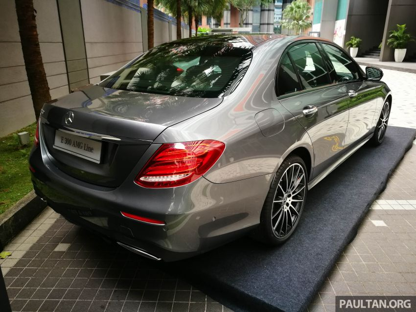 W213 Mercedes-Benz E300 AMG Line CKD in Malaysia – RM388,888 estimated, better spec than CBU version Image #835725