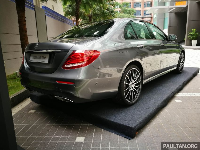 W213 Mercedes-Benz E300 AMG Line CKD in Malaysia – RM388,888 estimated, better spec than CBU version Image #835726
