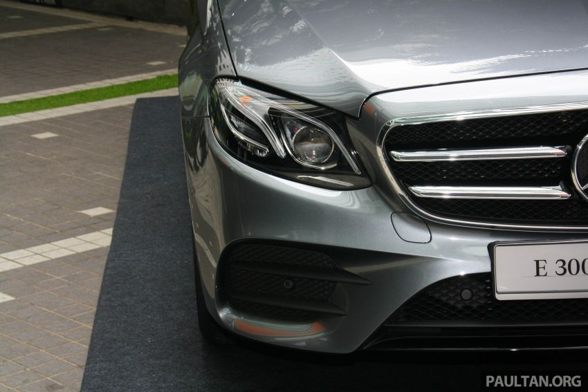 W213 Mercedes-Benz E300 AMG Line CKD in Malaysia – RM388,888 estimated, better spec than CBU version Image #835727