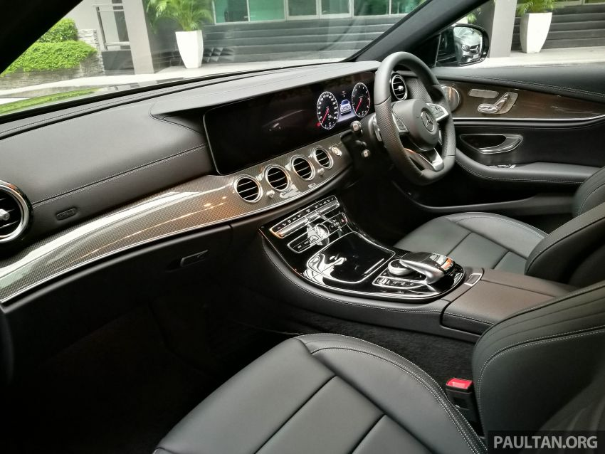 W213 Mercedes-Benz E300 AMG Line CKD in Malaysia – RM388,888 estimated, better spec than CBU version Image #835728
