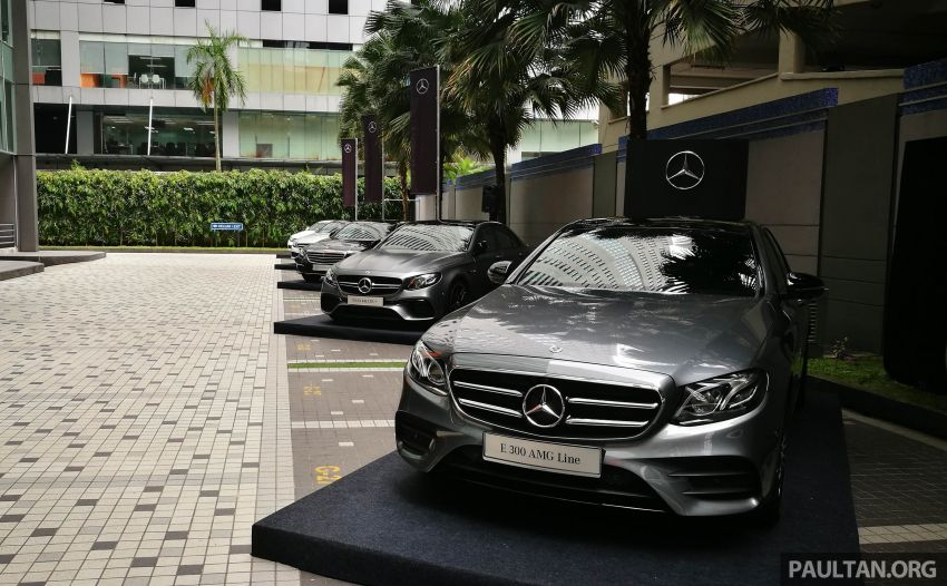 W213 Mercedes-Benz E300 AMG Line CKD in Malaysia – RM388,888 estimated, better spec than CBU version Image #835730