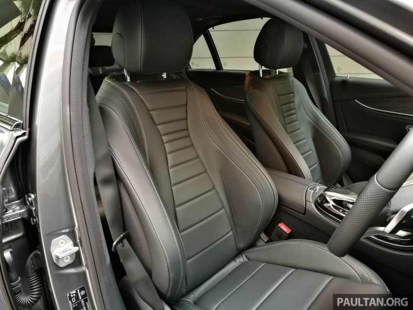 W213 Mercedes-Benz E300 AMG Line CKD in Malaysia – RM388,888 estimated, better spec than CBU version Image #835731