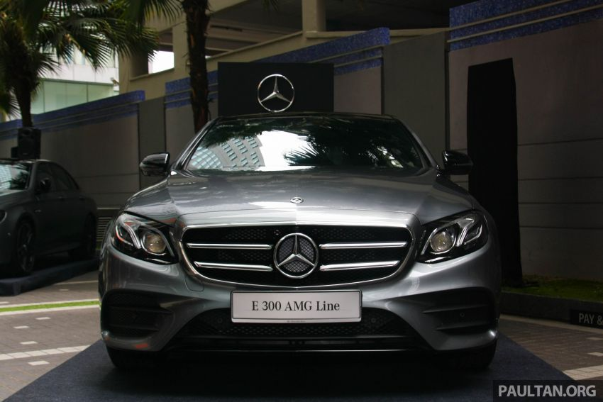 W213 Mercedes-Benz E300 AMG Line CKD in Malaysia – RM388,888 estimated, better spec than CBU version Image #835686