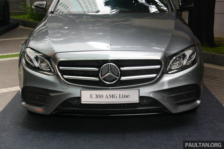 W213 Mercedes-Benz E300 AMG Line CKD in Malaysia – RM388,888 estimated, better spec than CBU version Image #835732