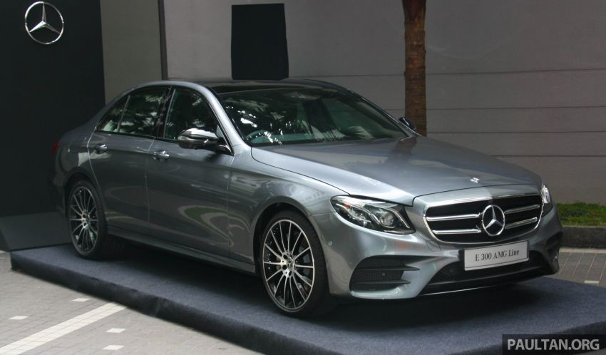 W213 Mercedes-Benz E300 AMG Line CKD in Malaysia – RM388,888 estimated, better spec than CBU version Image #835695