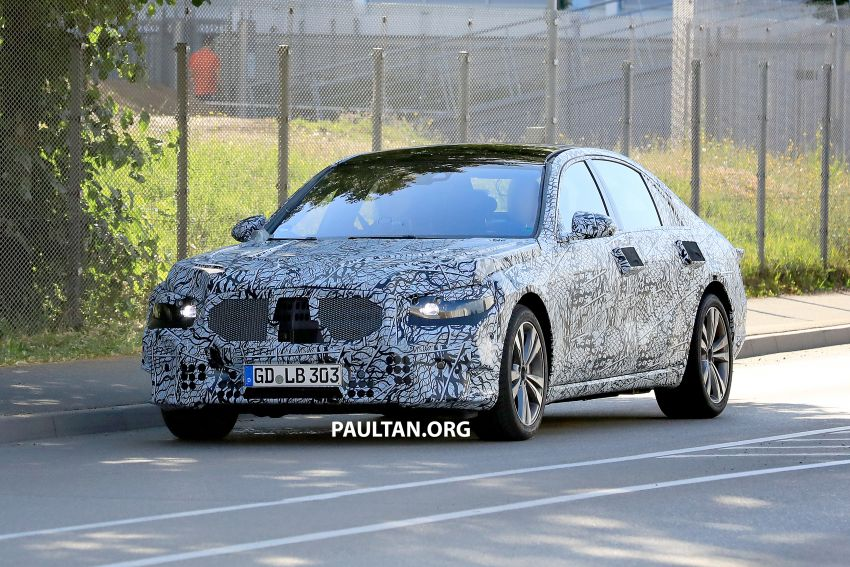 SPYSHOTS: W223 Mercedes-Benz S-Class spotted Image #836495