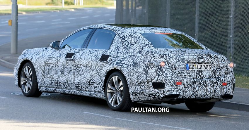 SPYSHOTS: W223 Mercedes-Benz S-Class spotted Image #836504