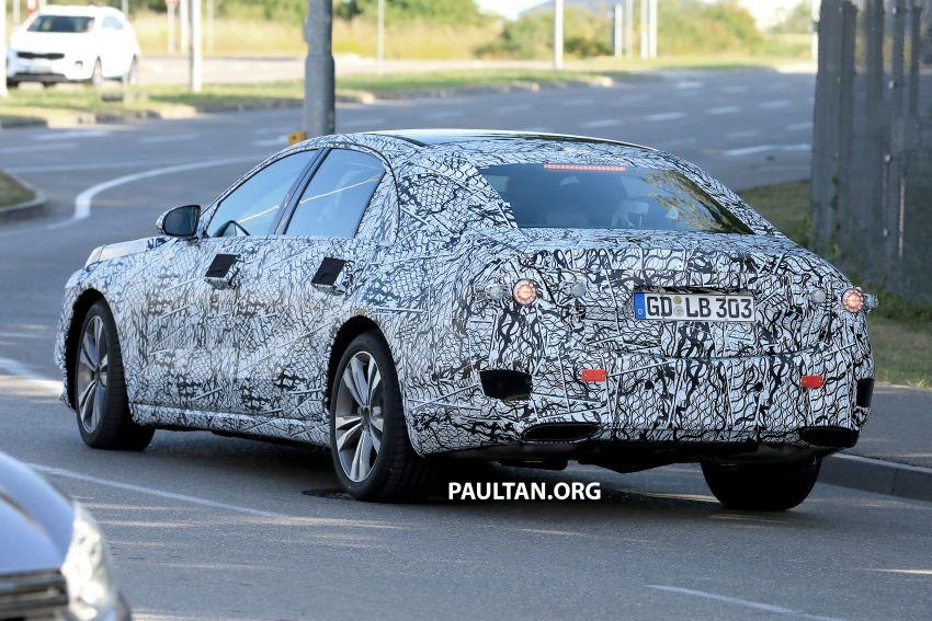 SPYSHOT: Mercedes-Benz S-Class W223 dikesan Image #836689