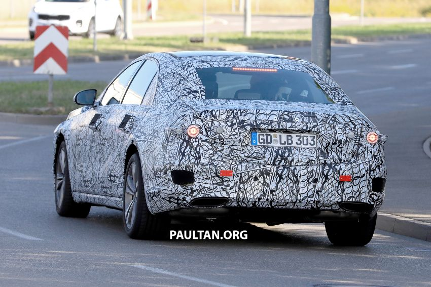 SPYSHOTS: W223 Mercedes-Benz S-Class spotted Image #836508
