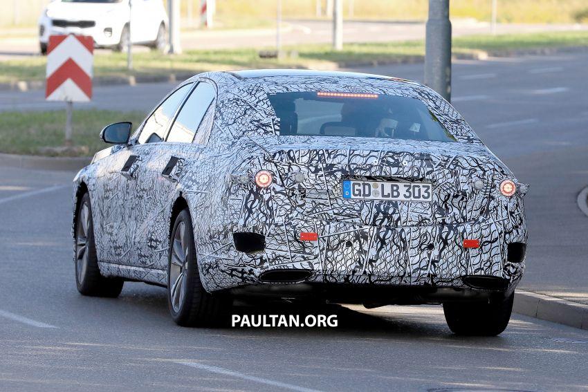 SPYSHOT: Mercedes-Benz S-Class W223 dikesan Image #836694