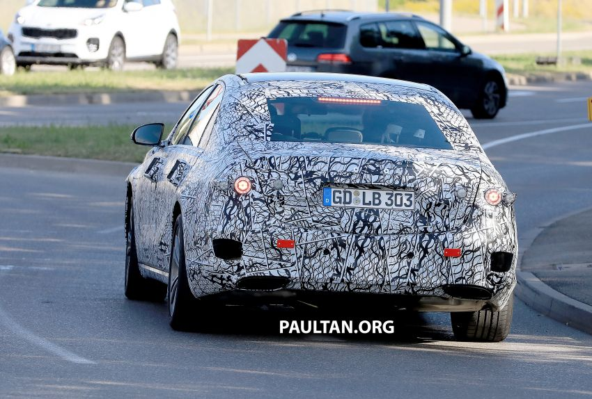 SPYSHOTS: W223 Mercedes-Benz S-Class spotted Image #836509