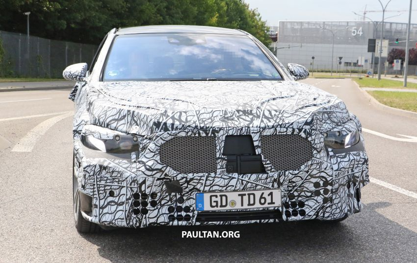 SPYSHOTS: W223 Mercedes-Benz S-Class spotted Image #836510