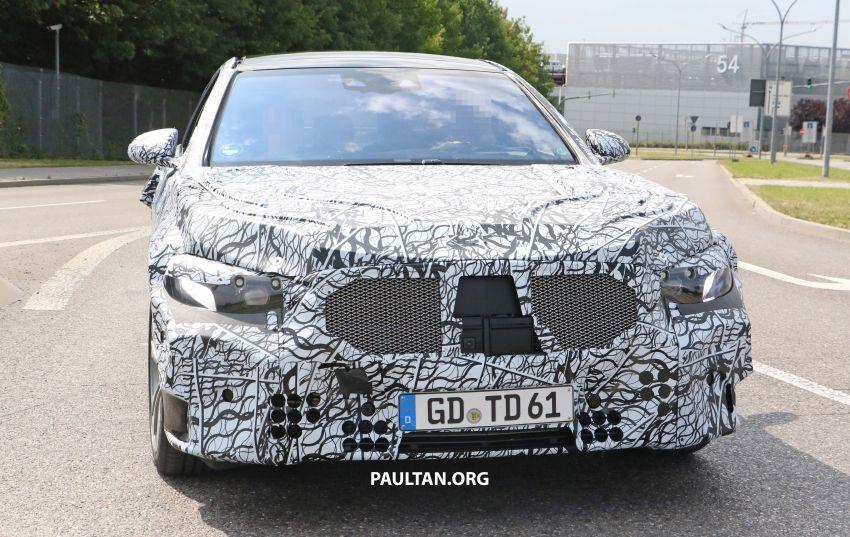 SPYSHOT: Mercedes-Benz S-Class W223 dikesan Image #836703