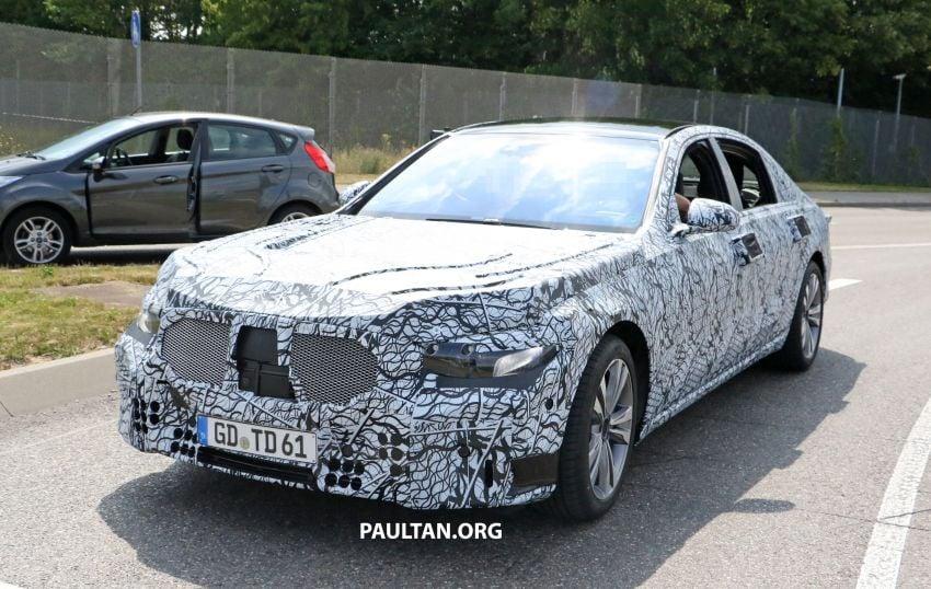 SPYSHOT: Mercedes-Benz S-Class W223 dikesan Image #836708
