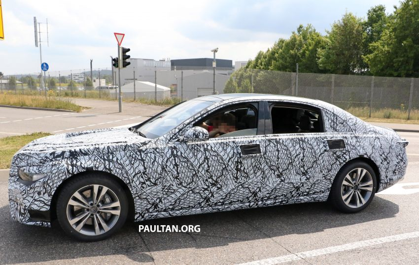 SPYSHOTS: W223 Mercedes-Benz S-Class spotted Image #836514