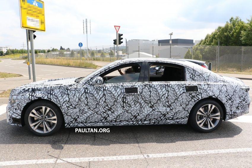 SPYSHOTS: W223 Mercedes-Benz S-Class spotted Image #836515