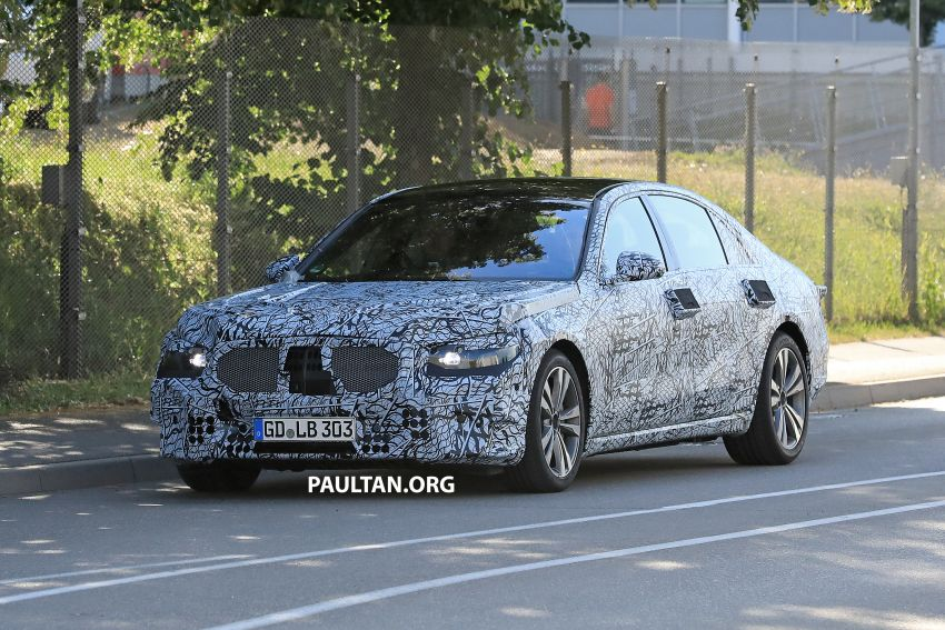 SPYSHOTS: W223 Mercedes-Benz S-Class spotted Image #836496