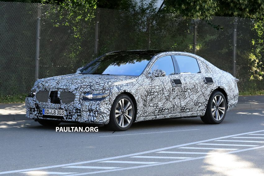 SPYSHOTS: W223 Mercedes-Benz S-Class spotted Image #836498