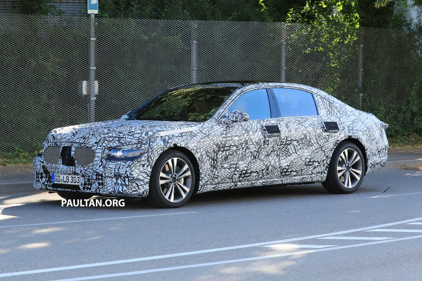 SPYSHOTS: W223 Mercedes-Benz S-Class spotted Image #836499