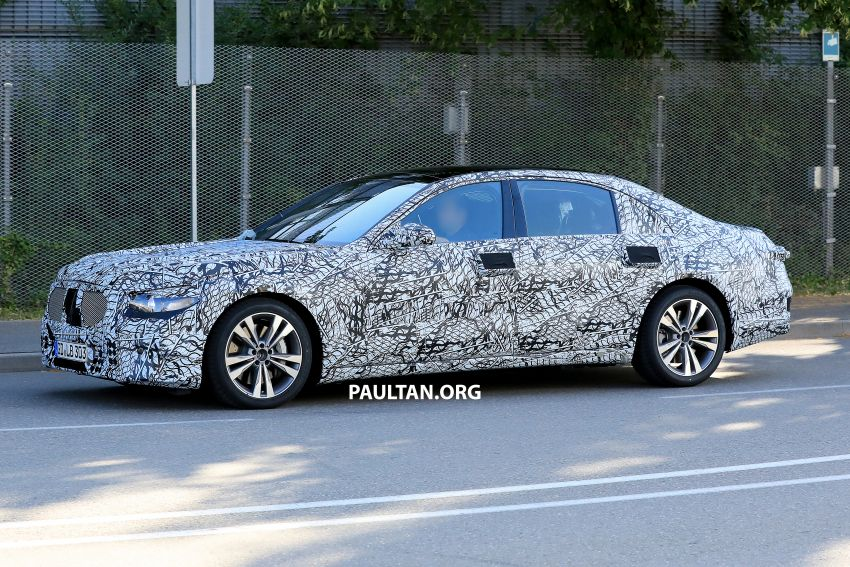 SPYSHOTS: W223 Mercedes-Benz S-Class spotted Image #836500