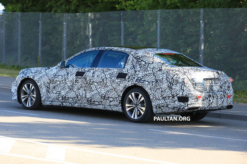 SPYSHOTS: W223 Mercedes-Benz S-Class spotted Image #836503