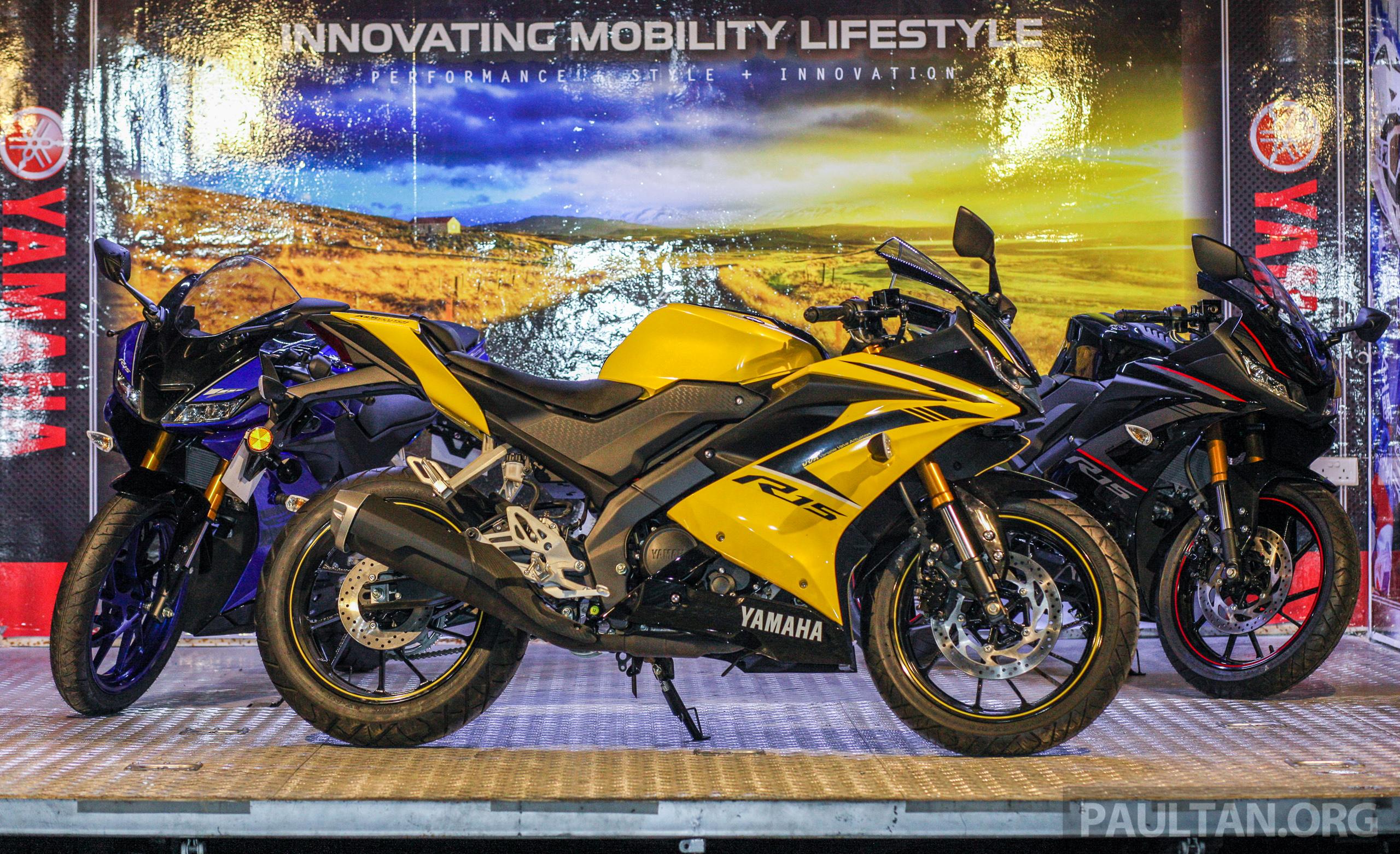 2018 Yamaha YZF R15 now in Malaysia - RM11,988