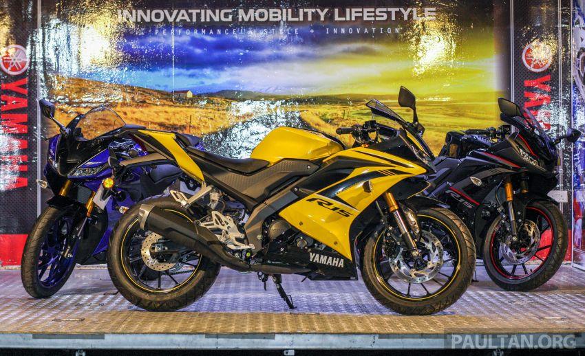 Yamaha YZF-R15 dilancarkan di Malaysia – RM11,988 Image #844372