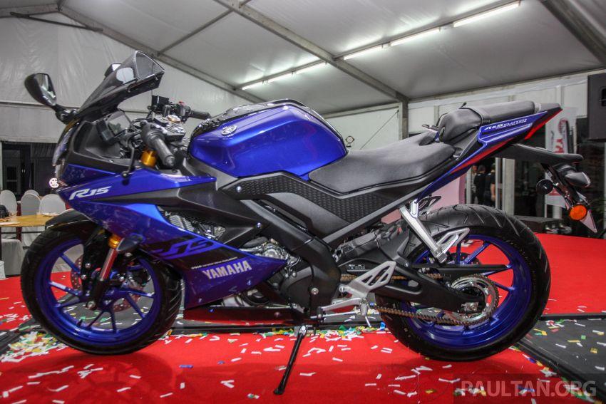 Yamaha YZF-R15 dilancarkan di Malaysia – RM11,988 Image #844381