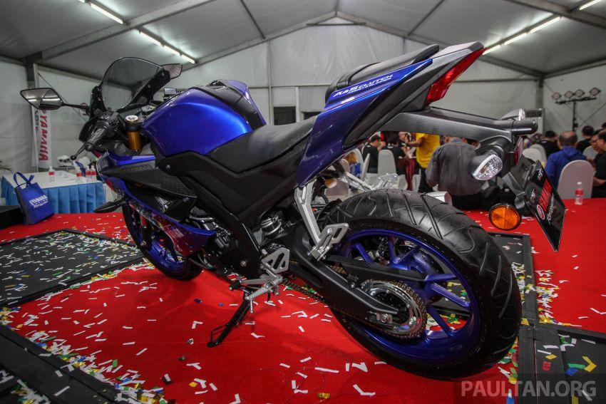 Yamaha YZF-R15 dilancarkan di Malaysia – RM11,988 Image #844383