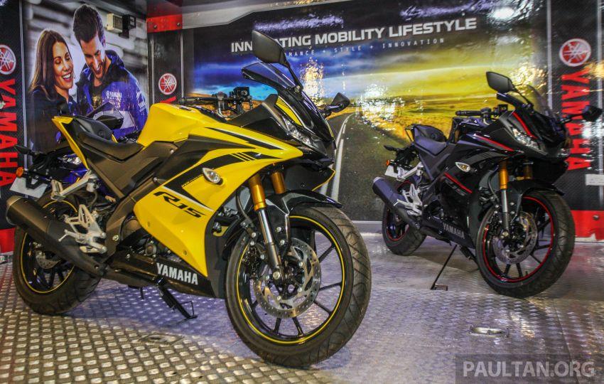 Yamaha YZF-R15 dilancarkan di Malaysia – RM11,988 Image #844373