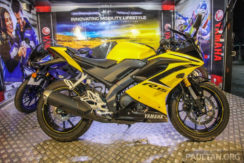 Yamaha YZF-R15 dilancarkan di Malaysia – RM11,988 Image #844376