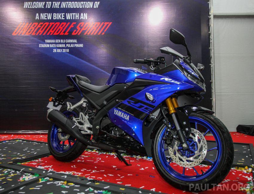 Yamaha YZF-R15 dilancarkan di Malaysia – RM11,988 Image #844378