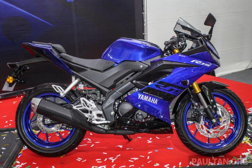 Yamaha YZF-R15 dilancarkan di Malaysia – RM11,988 Image #844380