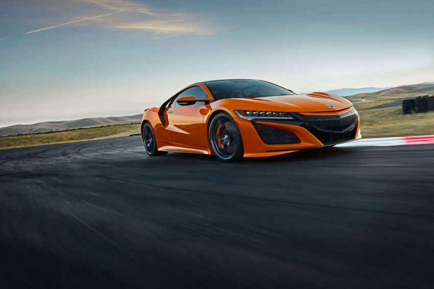 2019 Acura NSX debuts at Monterey – revised styling, more equipment; from RM645,251 in the United States Image #855572