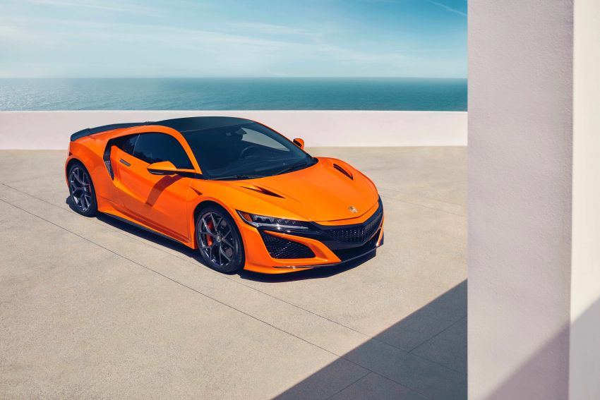 2019 Acura NSX debuts at Monterey – revised styling, more equipment; from RM645,251 in the United States Image #855577