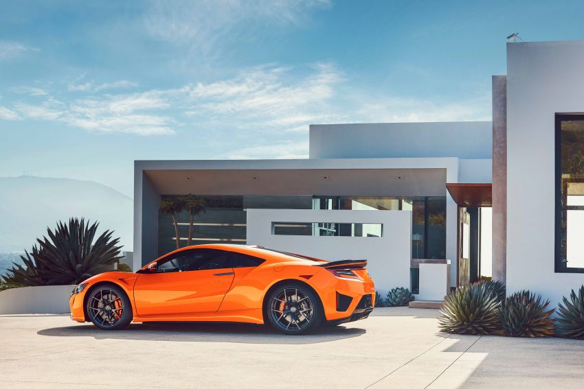 2019 Acura NSX debuts at Monterey – revised styling, more equipment; from RM645,251 in the United States Image #855579