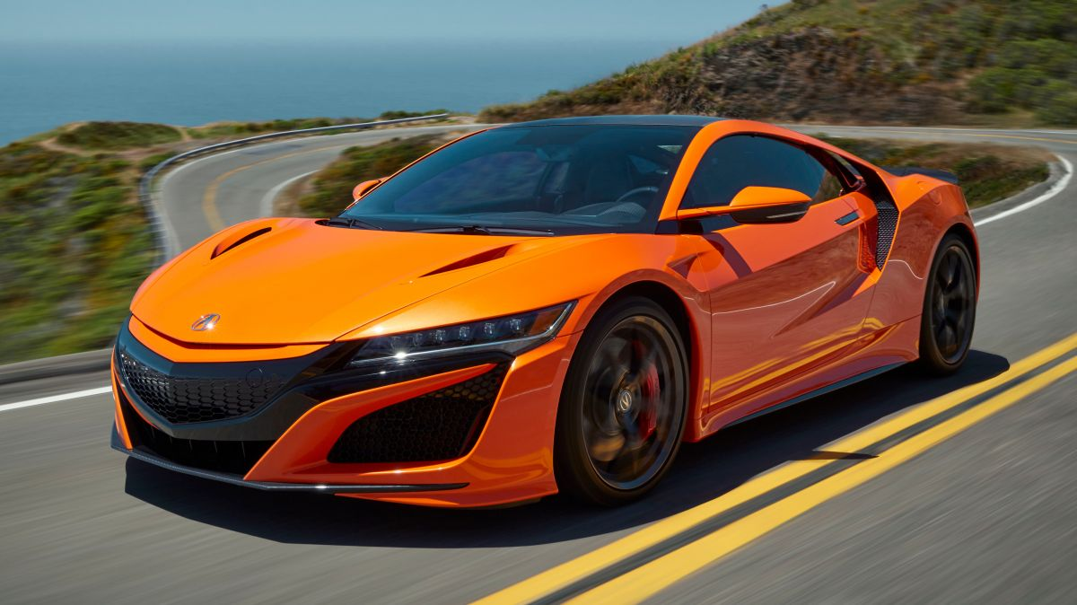 2019 Acura NSX debuts at Monterey - revised styling, more ...
