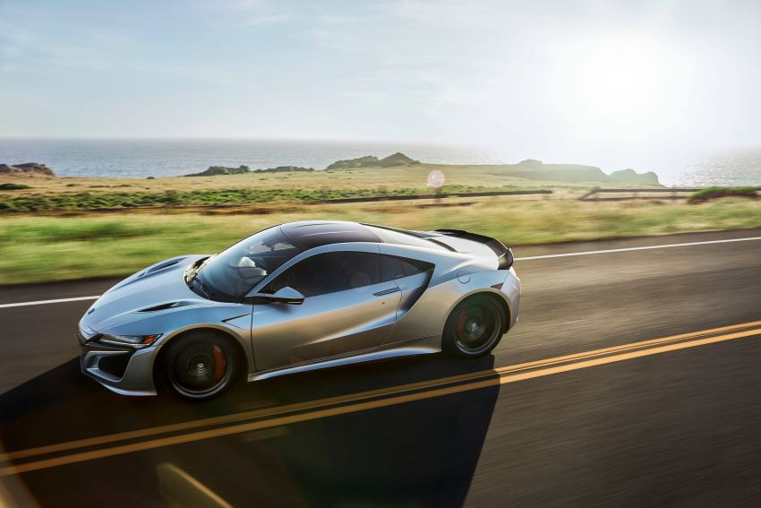 2019 Acura NSX debuts at Monterey – revised styling, more equipment; from RM645,251 in the United States Image #855582