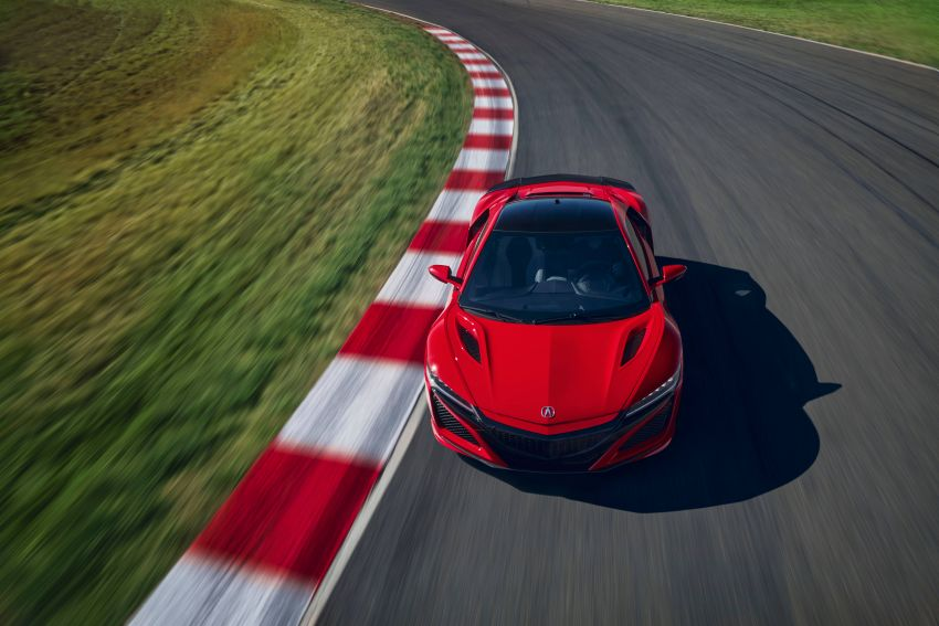 2019 Acura NSX debuts at Monterey – revised styling, more equipment; from RM645,251 in the United States Image #855583