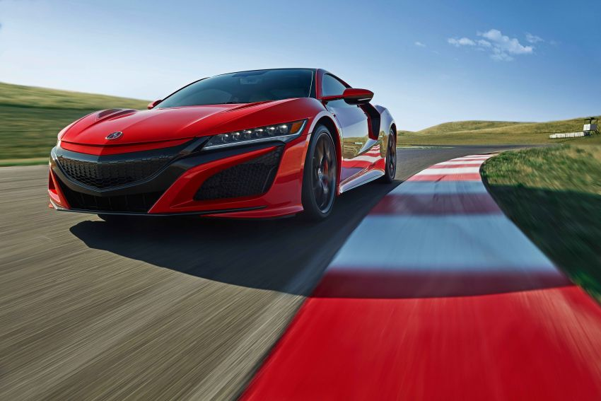 2019 Acura NSX debuts at Monterey – revised styling, more equipment; from RM645,251 in the United States Image #855585